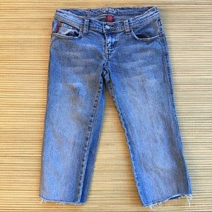 Tyte Brand Cut Off Cropped Jeans